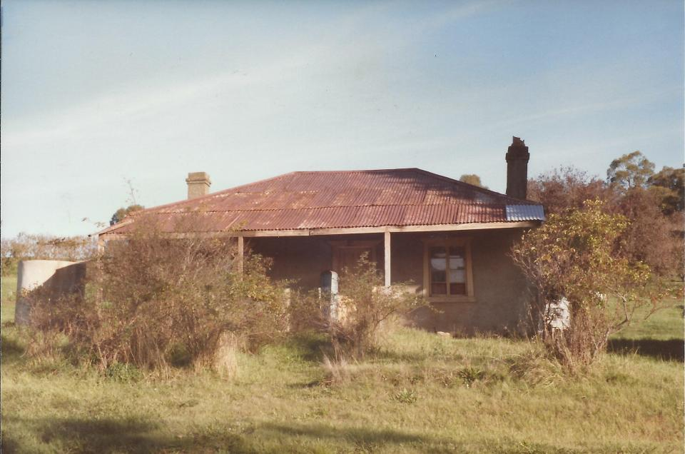Norton Family home, corner Lobethal and Tiers Road, Lenswood.